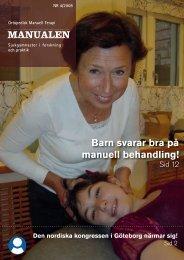 MANUALEN Barn svarar bra på manuell behandling! - omt sweden