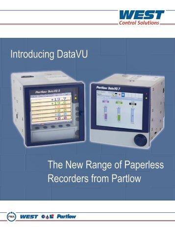 DataVU Recorders brochure - Prime Controls Co