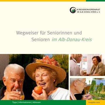 Senioren im Alb-Donau-Kreis - Das Portal zum Thema Pflege im Alter