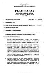 TALAUSAPAN N - Quezon City Council