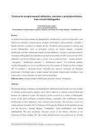 Técnicas de terapia manual: definições, conceitos e ... - Bio Cursos