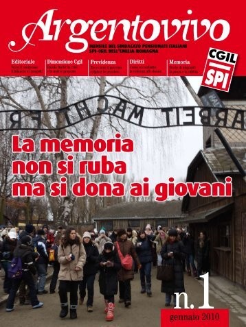Argentovivo - gennaio 2010 - Spi-Cgil Emilia-Romagna