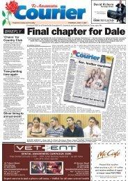 Te Awamutu Courier - June 11th, 2009 - Te Awamutu Online