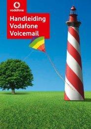 Handleiding Vodafone Voicemail