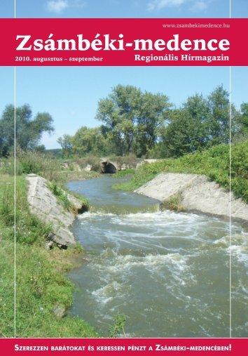 2010 AUGUSZTUS-SZEPTEMBER PDF-ben letölthető - Zsámbéki ...