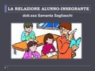 LA RELAZIONE ALUNNO-INSEGNANTE - Portale per l'educazione