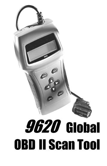 9620 Global OBD II Scan Tool - Actron