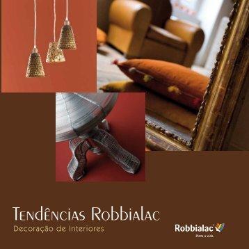 Tendências Robbialac - Globalconstroi