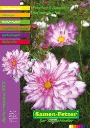 Katalog 2013 - Samen Fetzer