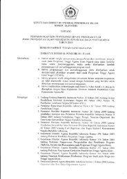 Perpanjangan Izin Penyelenggaraan Program Studi ... - Ranking PTAI