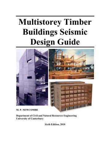 Multistorey Timber Buildings Seismic Design Guide - Sustainable ...