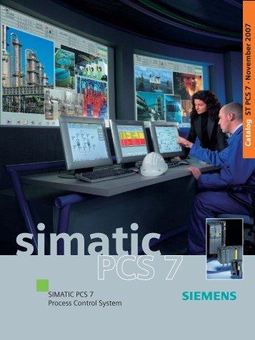SIMATIC PCS 7 Process Control System - Siemens
