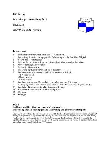 TSV Aukrug