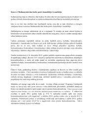 Kosovo i Međunarodni dan borbe protiv homofobije ... - UNDP Kosovo