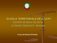 lezione 26 Maggio Avv. D'Amato - Camera Penale di Roma