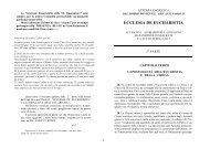 2004 - ECCLESIA DE EUCHARISTIA 2a parte - Ambrogio Villa