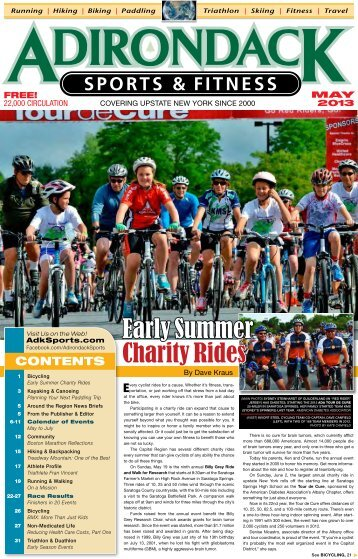 Read the Current Issue! - Adirondack Sports & Fitness