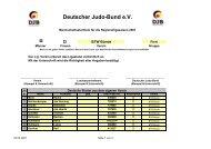 BTW Bünde 07 - Nordrhein-Westfälischer Judo-Verband e.V.