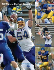 2009 spring football prospectus - Home Page Content Goes Here