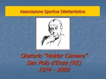 Progetto Scuola Calcio completo - Parrocchia di San Polo d'Enza