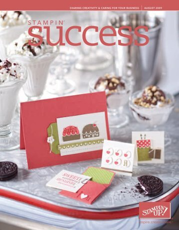 sharing creativity & caring for your business - Stampin' Up!