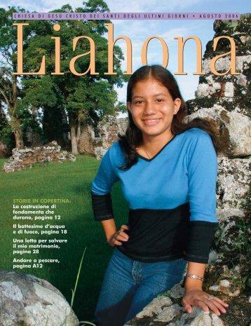 Agosto 2006 Liahona