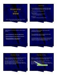 pdf color - Dipartimento di Informatica ed Applicazioni