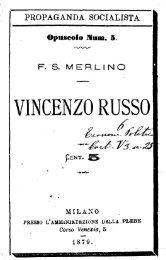 Vincenzo Russo - Centro Studi Merlino