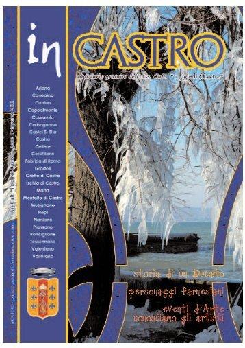 Giornale n° 1 – formato pdf - I GIGLI DI CASTRO