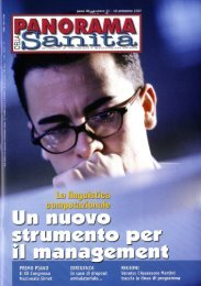 articolo - Marketing sociale e Comunicazione per la salute