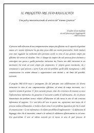 IL PROGETTO IRE SUD BASILICATA - Lisug, Libero Sindacato ...