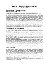 manuale di diritto amministrativo - E' nata MINERVA la piattaforma ...