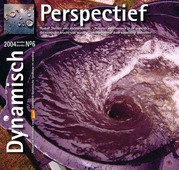 Dynamisch Perspectief 2004 - BD-Vereniging