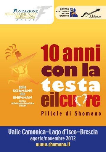 Scarica l'opuscolo completo del festival 2012 in pdf - DALLO ...