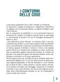 I CONTORNI DELLE COSE di Eleonora Sottili ... - NavigareSicuri - Page 5