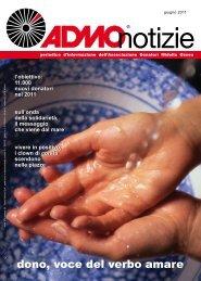 periodico d'informazione dell'Associazione Donatori Midollo ... - Admo