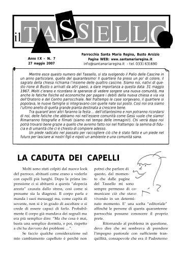 scarica il numero in formato pdf - Parrocchia Santa Maria Regina