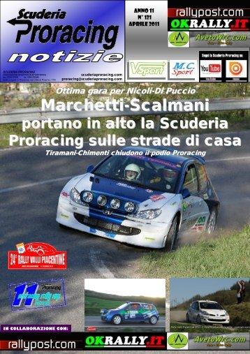 PRC notizie n. 121 - Scuderia Proracing Piacenza