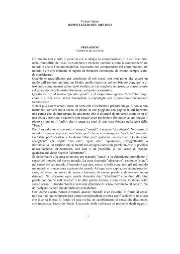 Tiziano Ogliari, Repentaglio del metodo - Gian***Paolo***Guerini