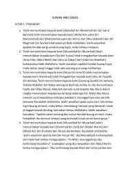 Sunan Abu Daud – Pdf File