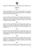 """Schema di regolamento recante """"Indicazioni nazionali riguardanti gli ... - Page 3"""