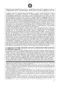 """Schema di regolamento recante """"Indicazioni nazionali riguardanti gli ... - Page 7"""
