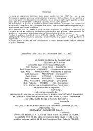 Cass. Civ., sez. un., n. 13533/2001 - Giurisprudenza