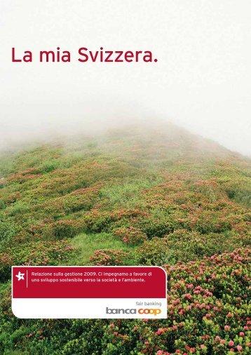La mia Svizzera. - Bank Coop