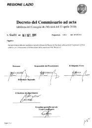 DPCA n. U0082 - Agenzia di Sanità Pubblica della Regione Lazio