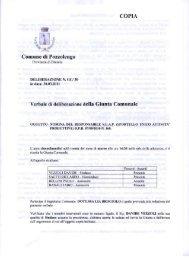 Deliberazione GC n. 30 del 30/03/2011 Costituzione SUAP locale e ...