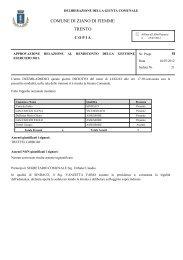 approvazione relazione al rendiconto della gestione esercizio 2011.
