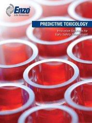 PREDICTIVE TOXICOLOGY - Enzo Life Sciences