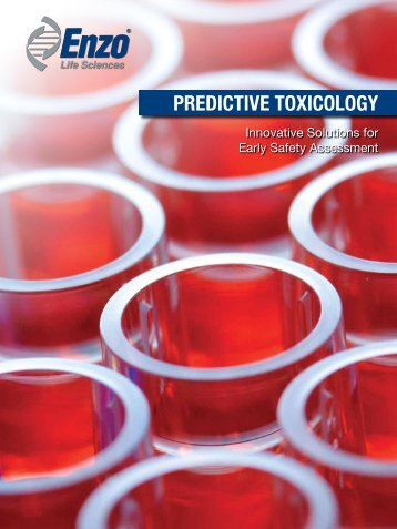 PREDICTIVE TOXICOLOGY - Enzo Life Sciences