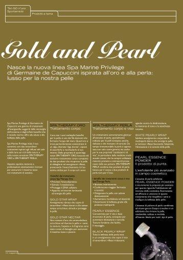 Gold and Pearl - Sportarredo